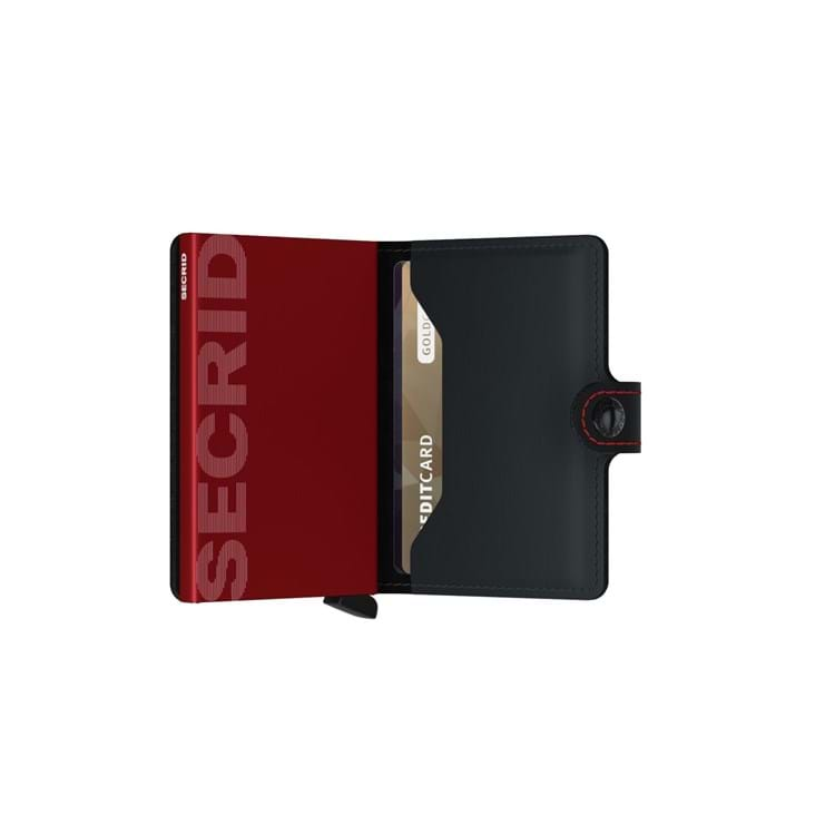 Secrid Kortholder Mini wallet Sort/Rød 4