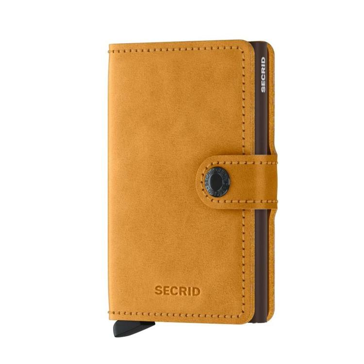 Secrid Kortholder Mini wallet Gul 1