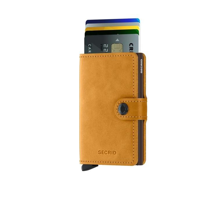 Secrid Kortholder Mini wallet Gul 2