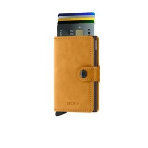 Secrid Kortholder Mini wallet Gul alt image