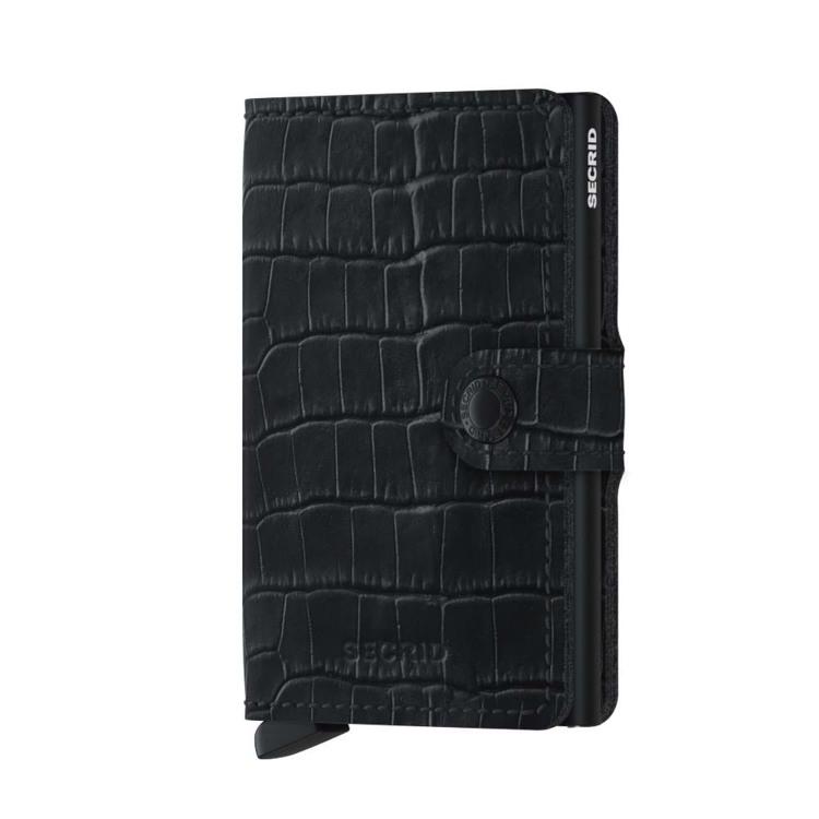 Secrid Kortholder Mini wallet Sort/Croco 1