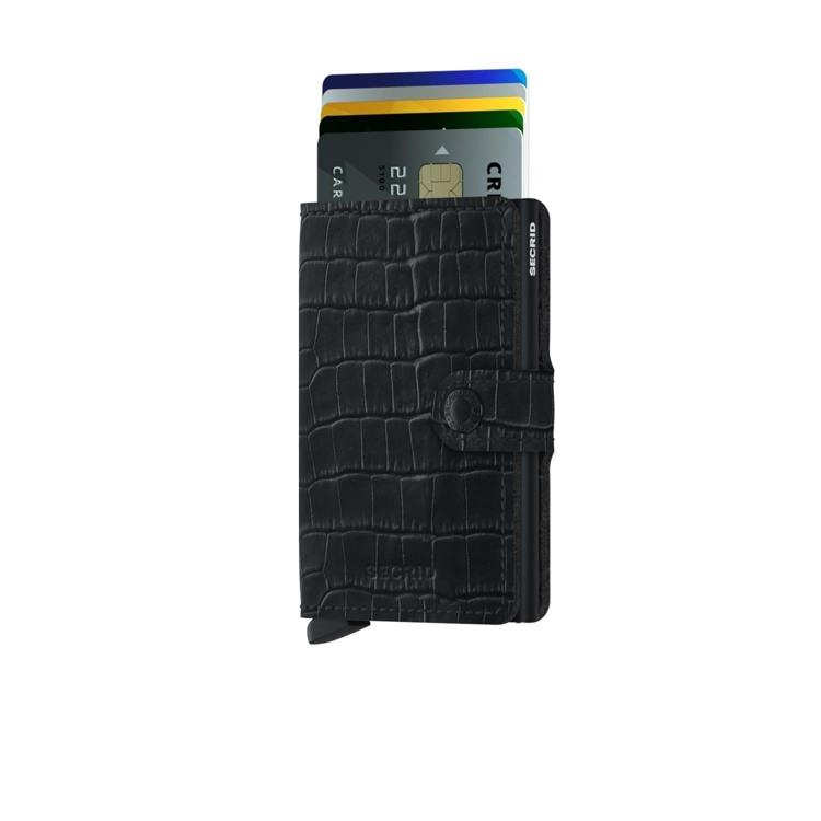 Secrid Kortholder Mini wallet Sort/Croco 2