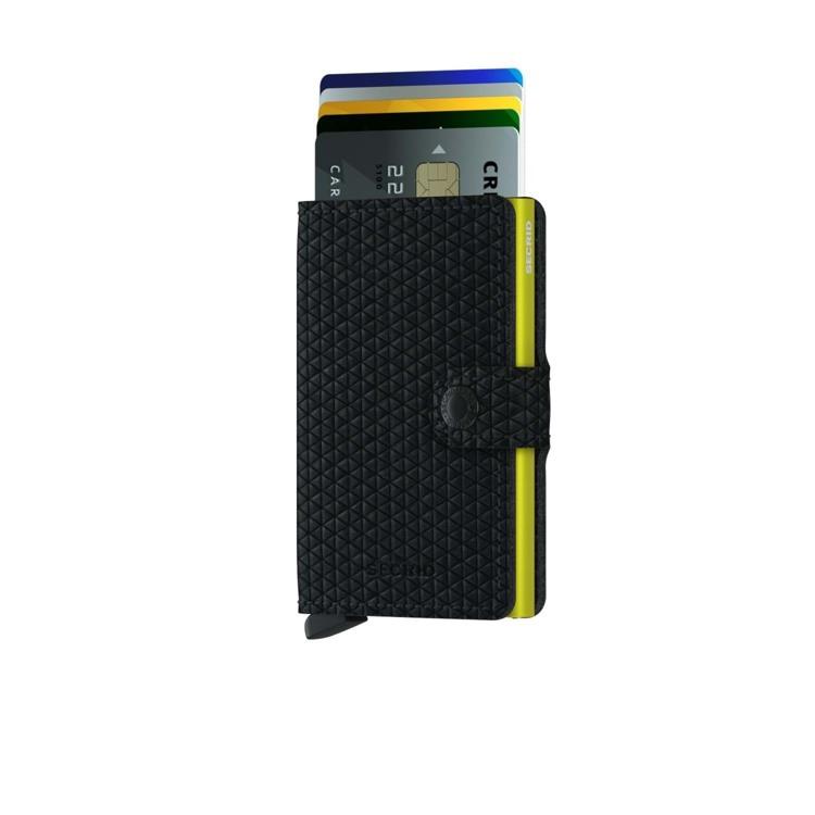 Secrid Kortholder Mini wallet Sort mønster 2