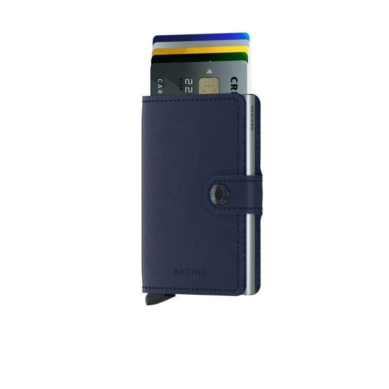 Secrid Kortholder Mini wallet Blå/blå 2