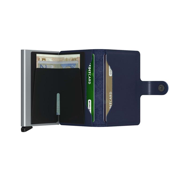 Secrid Kortholder Mini wallet Blå/blå 3