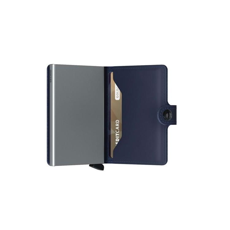Secrid Kortholder Mini wallet Blå/blå 4
