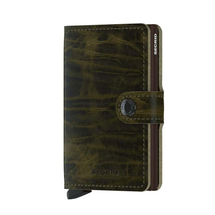 Secrid Kortholder Mini wallet Oliven Grøn 1