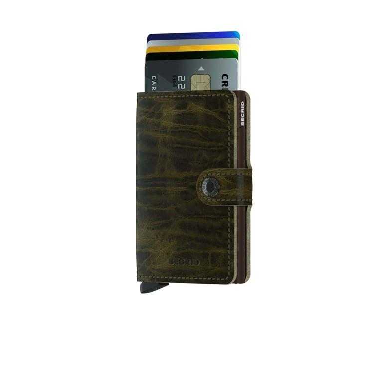 Secrid Kortholder Mini wallet Oliven Grøn 2