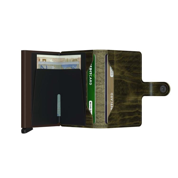 Secrid Kortholder Mini wallet Oliven Grøn 3