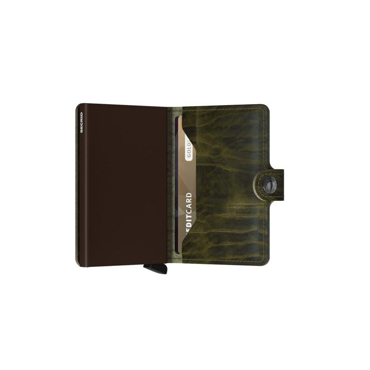 Secrid Kortholder Mini wallet Oliven Grøn 4