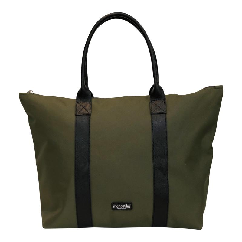 Manostiles Weekend Bag Oliven Grøn 1