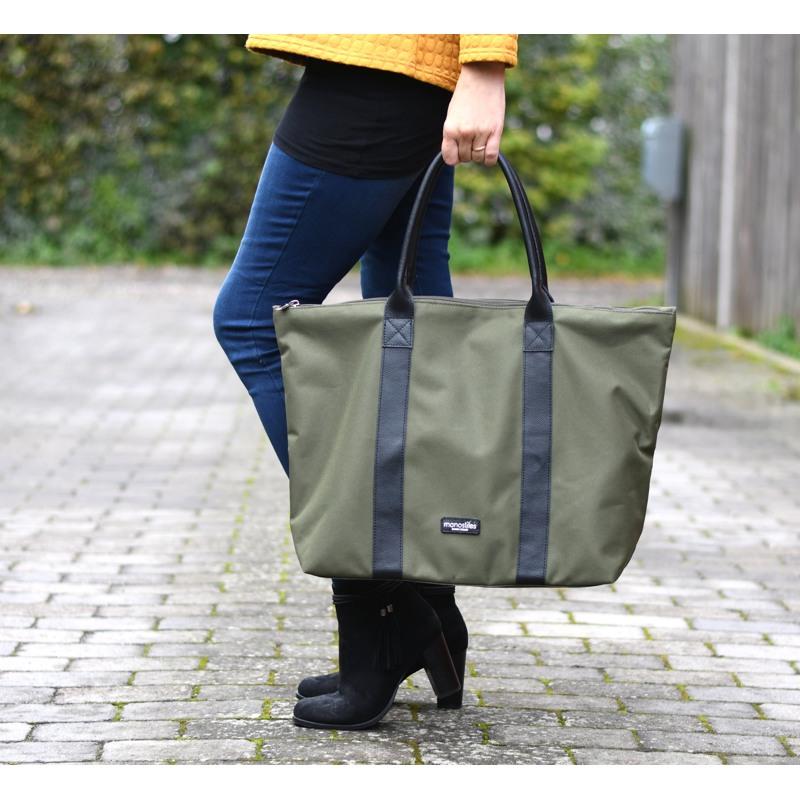 Manostiles Weekend Bag Oliven Grøn 3