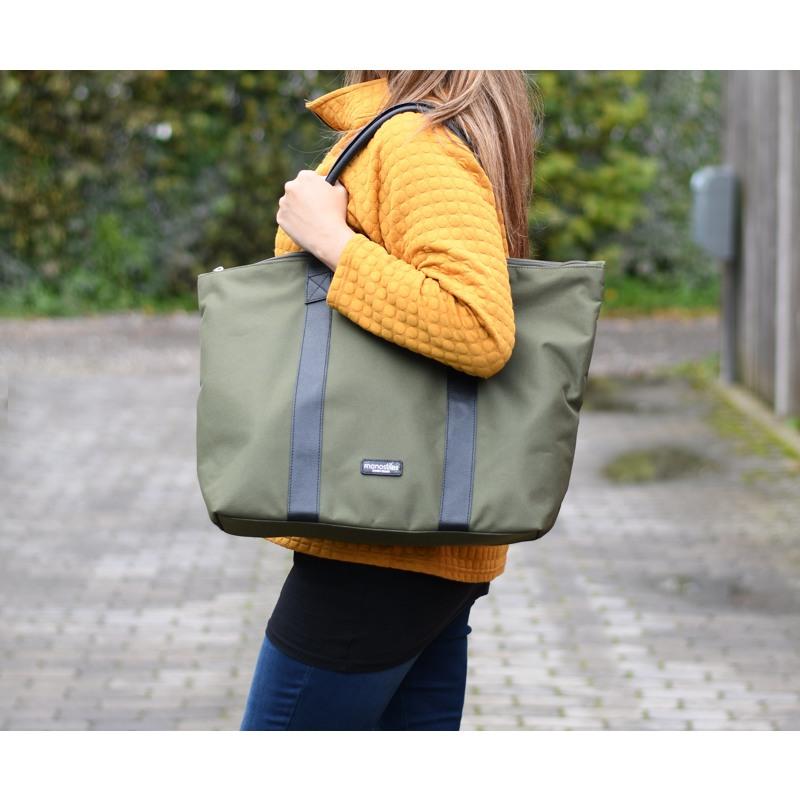 Manostiles Weekend Bag Oliven Grøn 4
