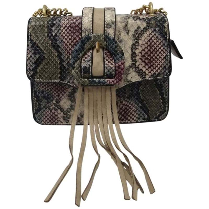 Saint Sulpice Crossbody Rose,Grey,Creme 1
