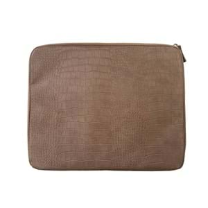 "NEYE Office Computer Sleeve Croco 13"" Brun"