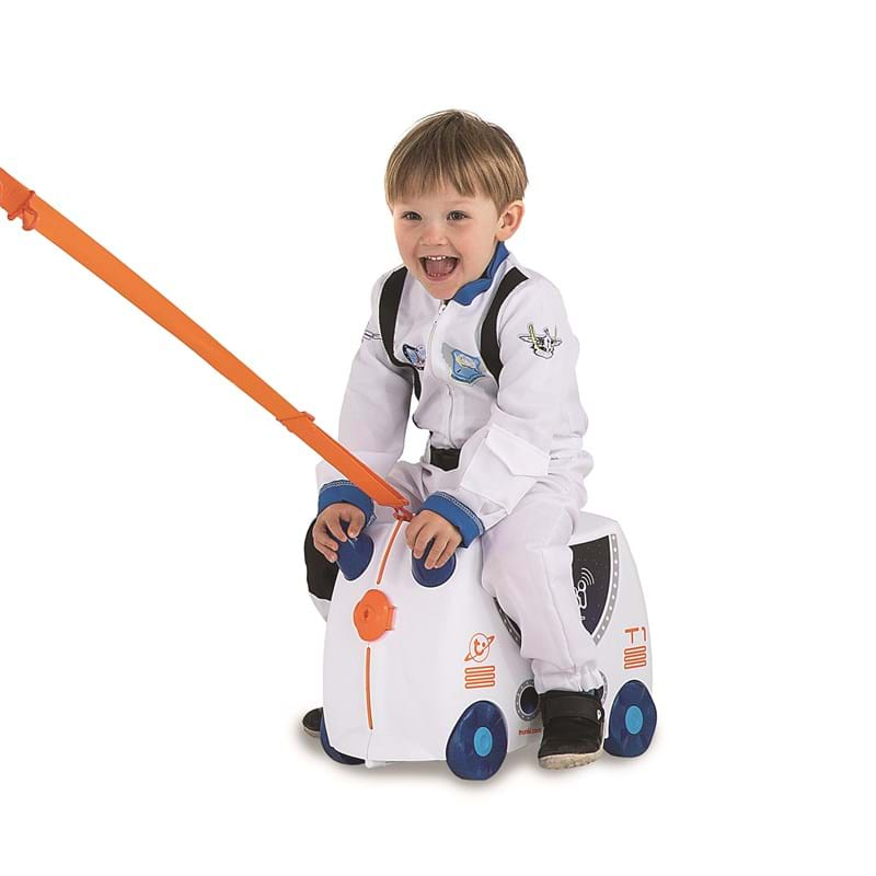 Trunki Børnekuffert med hjul Hvid/Navy 6