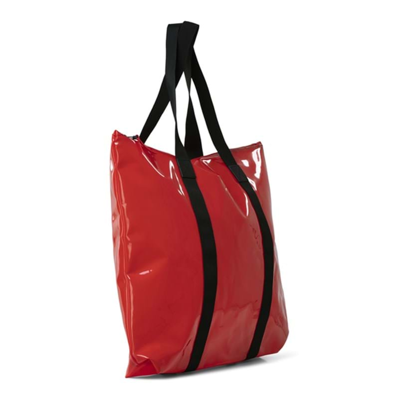 Rains Shopper Transparent Tote Bag Rød 2