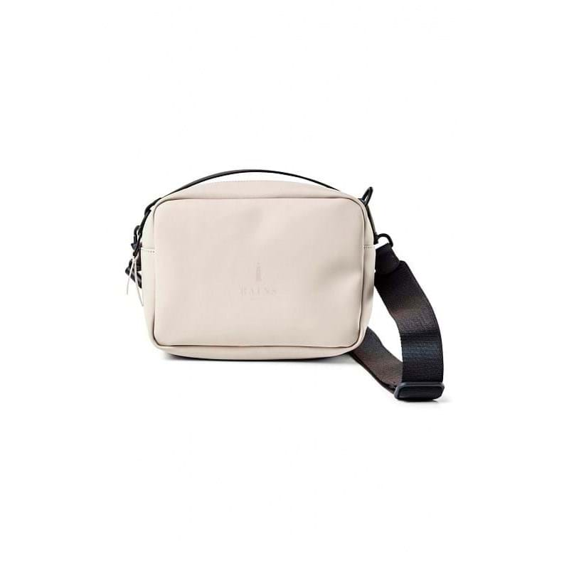 Rains Skuldertaske Box Bag Beige 1
