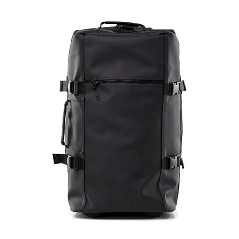 Rains Rejsetaske Travel Bag L Sort 1