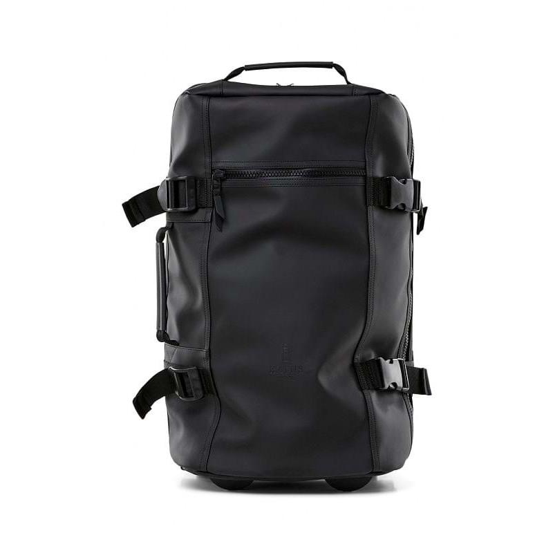 Rains Rejsetaske Travel Bag S Sort 1