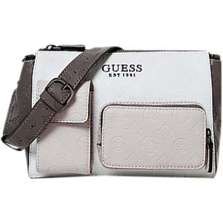 Guess Crossbody Ilenia Pocket  Rosa/Grey 1