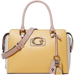 Guess Håndtaske Annarita Girlfriend  Gul