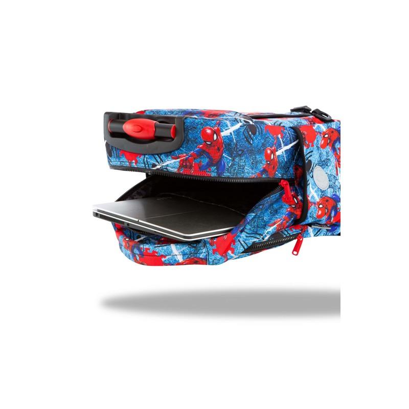 Coolpack Trolley Rygsæk Jack XL Blå/rød 5