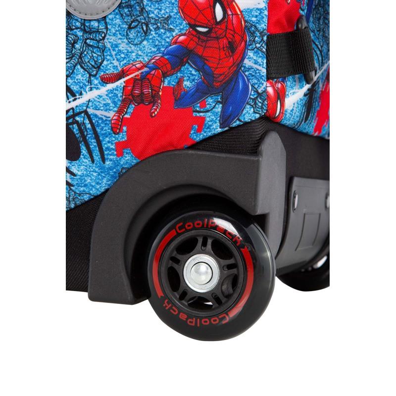 Coolpack Trolley Rygsæk Jack XL Blå/rød 7