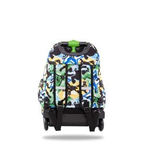 Coolpack Trolley Rygsæk Jack XL Grøn mønster 2