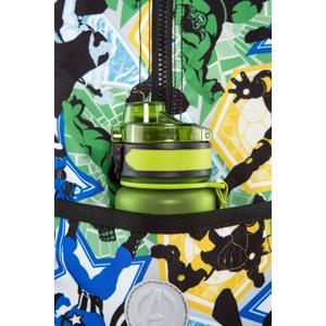 Coolpack Trolley Rygsæk Jack XL Grøn mønster 4