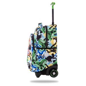 Coolpack Trolley Rygsæk Jack XL Grøn mønster 6