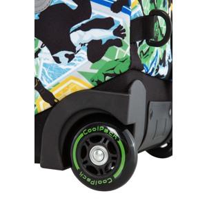 Coolpack Trolley Rygsæk Jack XL Grøn mønster 7