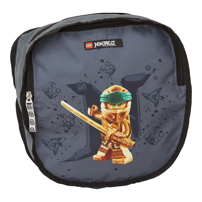 LEGO Skoletaske Optimo Ninjago Gold Grå 6