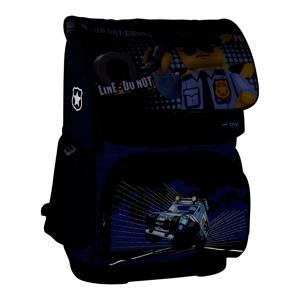 LEGO Skoletaske Optimo City Police  Blå/sort 7