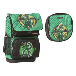 LEGO Skoletaske Optimo Ninjago Gree Grøn