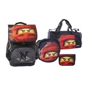 LEGO Skoletaskesæt Optimo Ninjago K Sort/Rød 1