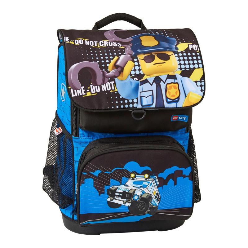 LEGO Skoletaskesæt Optimo City Poli Blå/sort 2