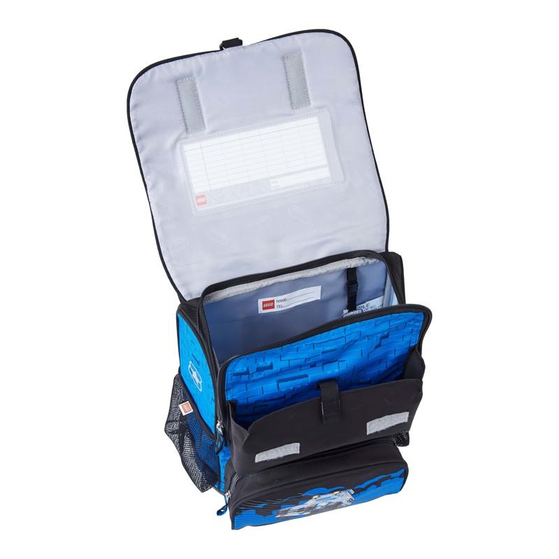 LEGO Skoletaskesæt Optimo City Poli Blå/sort 6