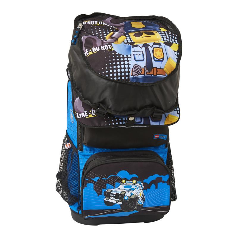 LEGO Skoletaskesæt Optimo City Poli Blå/sort 3