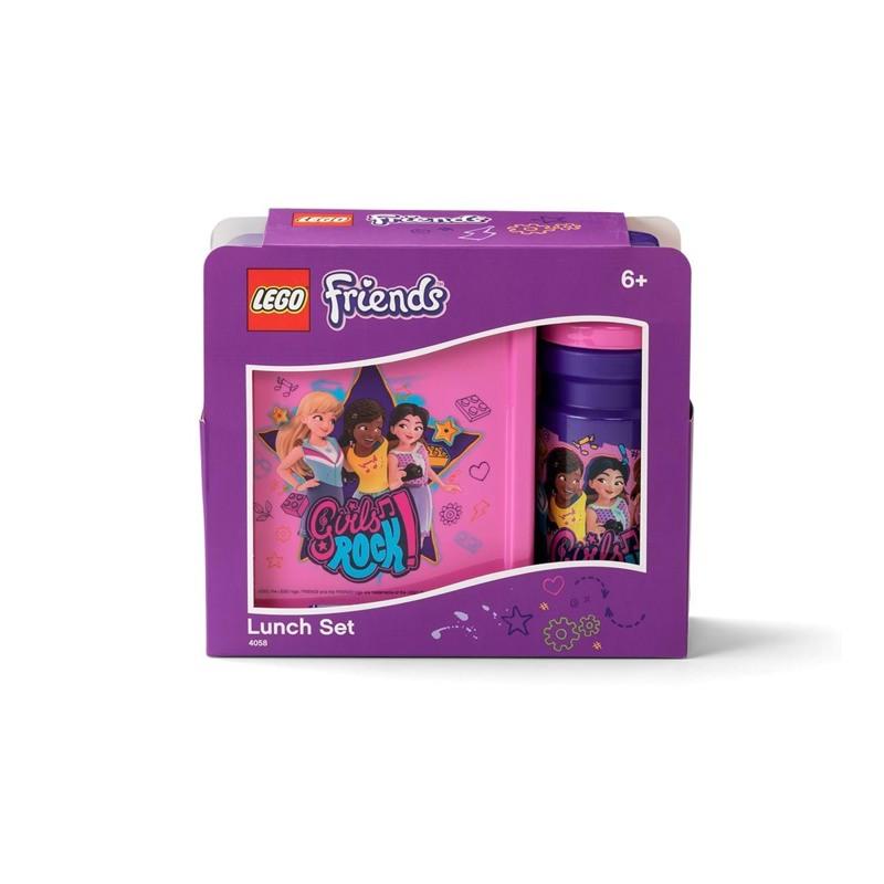 LEGO Madkassesæt Friends Lilla/pink 1