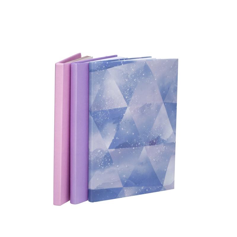 Beckmann Bogbind 3-pak Cosmic Lilla/hvid/pink 1