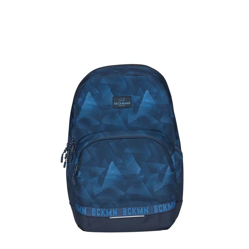 Beckmann Skoletaske Sport Jr. Blue Quar Blå/blå 1