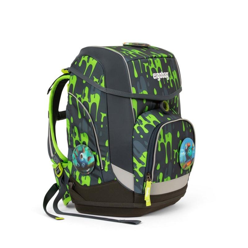 Ergobag Skoletaskesæt Cubo Grå/grøn 2
