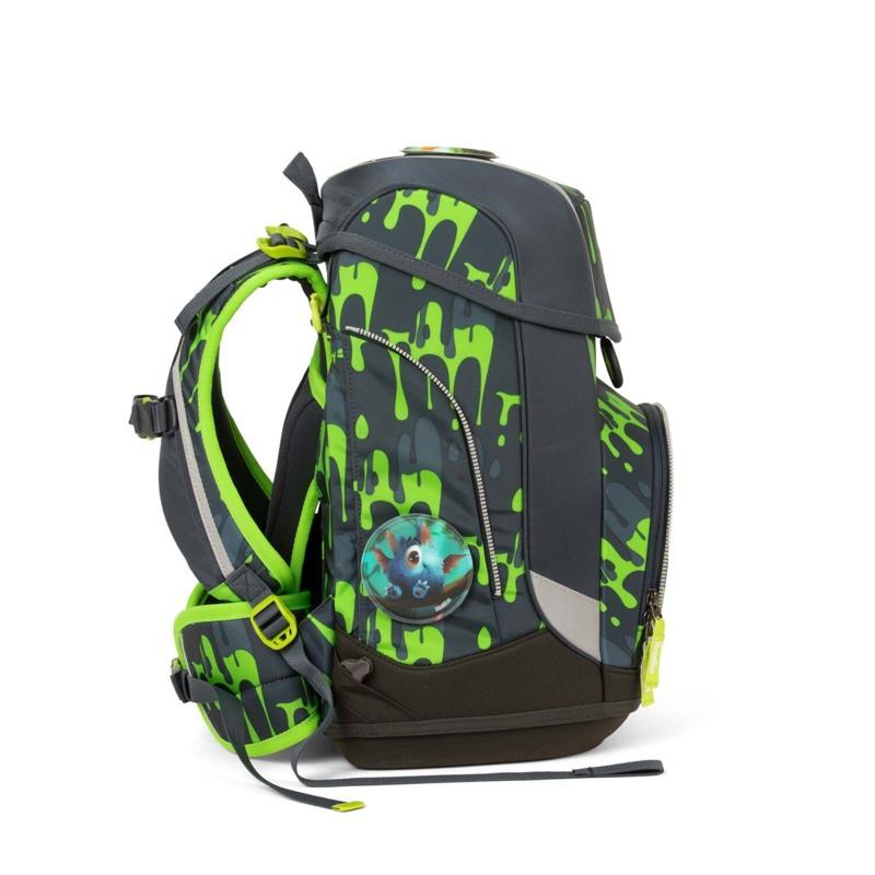 Ergobag Skoletaskesæt Cubo Grå/grøn 3