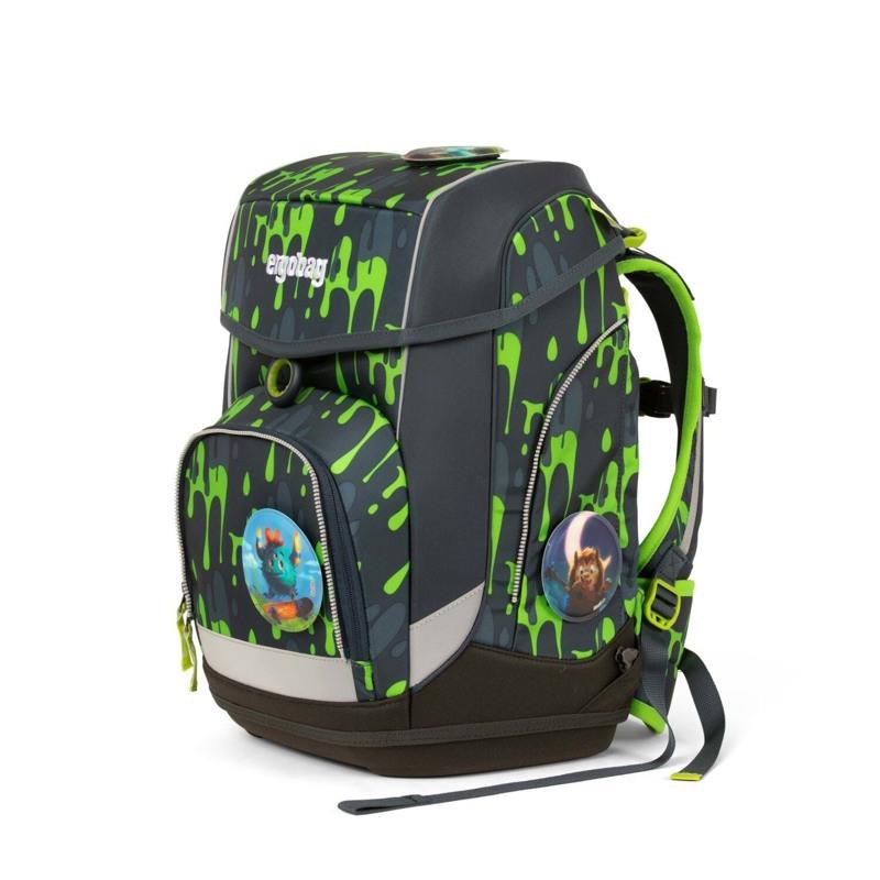 Ergobag Skoletaskesæt Cubo Grå/grøn 5