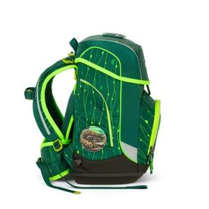 Ergobag Skoletaskesæt Cubo Lumi Grøn/Taupe 3