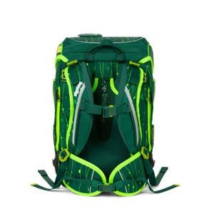Ergobag Skoletaskesæt Cubo Lumi Grøn/Taupe 4
