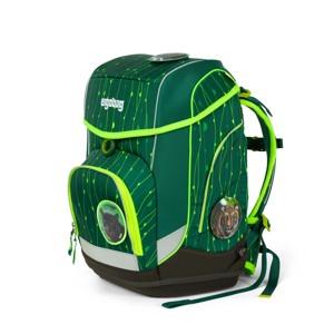 Ergobag Skoletaskesæt Cubo Lumi Grøn/Taupe 5