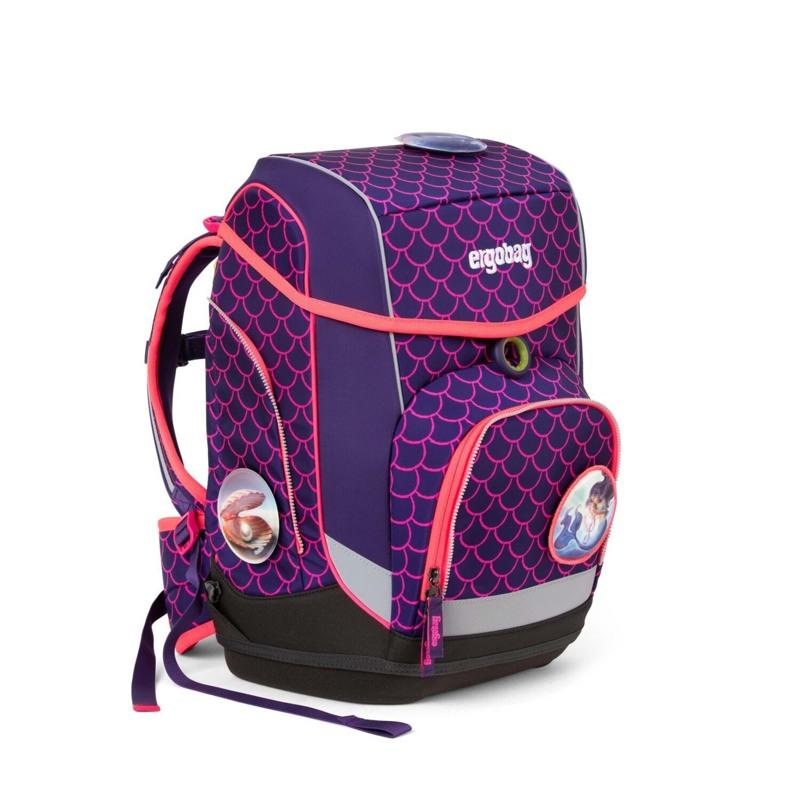 Ergobag Skoletaskesæt Cubo Lumi Pink/Grøn 2