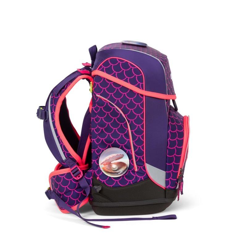 Ergobag Skoletaskesæt Cubo Lumi Pink/Grøn 3